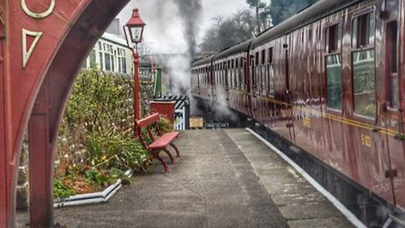 Goathland Station by Martyn Wright