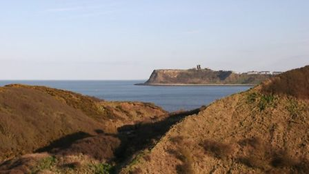 Scarborough's North Bay and castle by Terry Fletcher