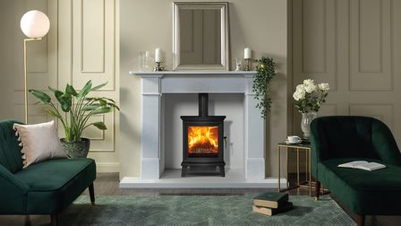 A fireplace creates a focal point in the room and makes it feel snug and homely. Picture: Focus Fireplaces York