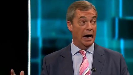 Farage denied he had ever talked about privatising the NHS on the ITV general election debate. Pictu