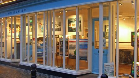 Staithes Gallery specialises in coastal art in a town famed for inspiring artists