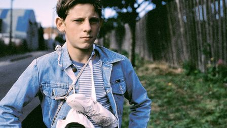 Jamie Bell as Billy Elliot in the smash hit movie about the coal miner's son whose life is changed by ballet