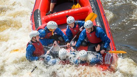 'Try white water rafting on an Olympic standard course at Tees Barrage.' Picture: Tees Active