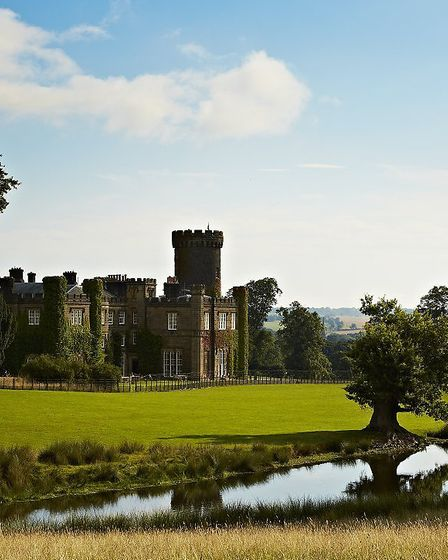 The Swinton Park estate has acres of space and many activities for all ages - from a swish spa to mountain bike trails