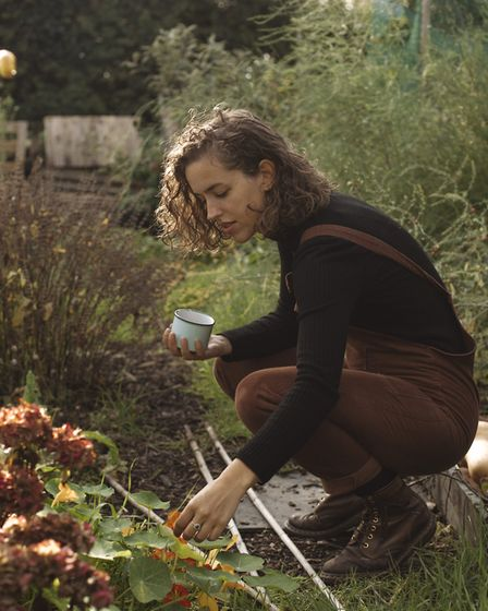 Helena loves foraging in the garden for foliage - something she urges everyone to do