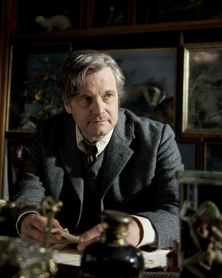 Colin Firth plays Archibald Craven