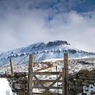 Pen-y-ghent in winter