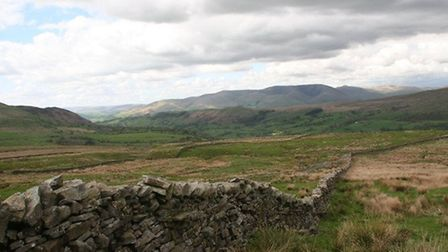 Howgill Fells from the Ocky by Terry Fletcher