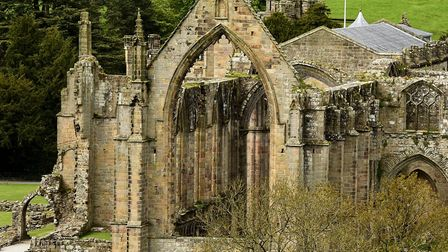 Bolton Abbey: Jonny loves the heritage and atmopshere of the place