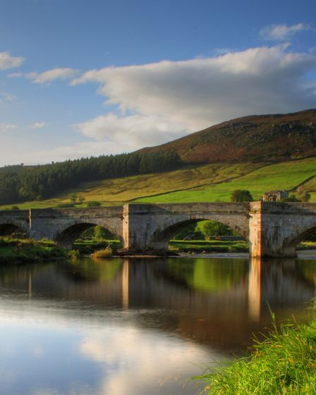 The Bridge in Burnsall, Yorkshire Dales, taken just after sunrise. Burnsall is where Jonny takes friends to show off...
