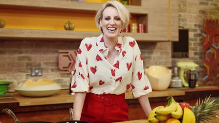 Steph McGovern On Set of New Show