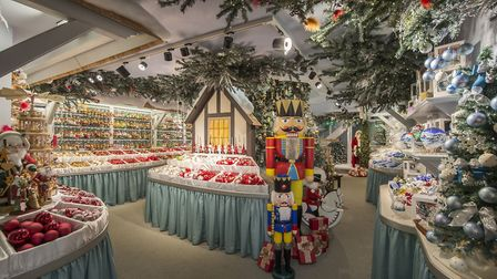 Käthe Wohlfahrt is an all-year-round Christmas shop offering a huge variety of high-quality decorati
