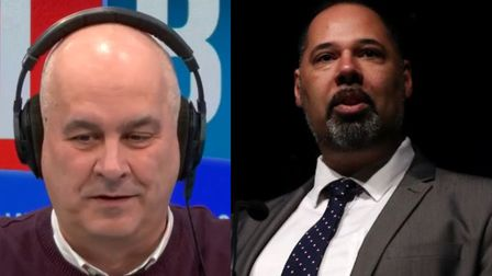 UKIP candidate David Kurten was given some stinging general election questions by LBC's Iain Dale. P