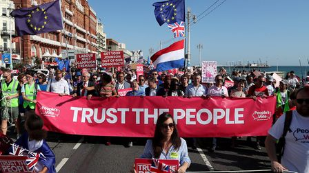 """""""It'�ll be the last big rallying cry for people to vote tactically to prevent a Johnson landslide"""",�"""