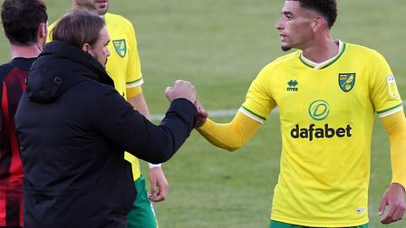 Norwich City have accepted an improved bid from Everton for Ben Godfrey Picture by Paul Chesterton/F
