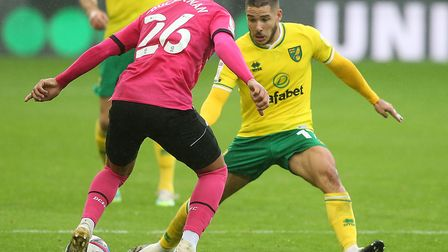 Emi Buendia's return is one of the positives for Norwich City. Pictures: Paul Chesterton/Focus Imag