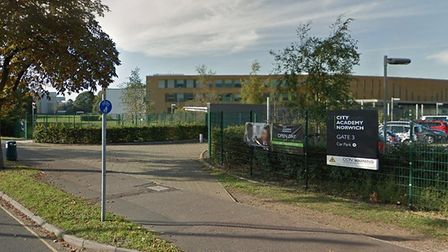 City Academy Norwich where some pupils have been told to self-isolate after a confirmed case of coro