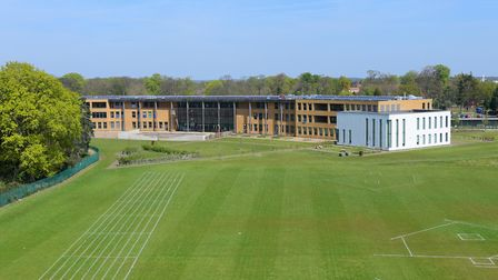 City Academy Norwich where a small number of pupils are self-isolating after a positive coronavirus