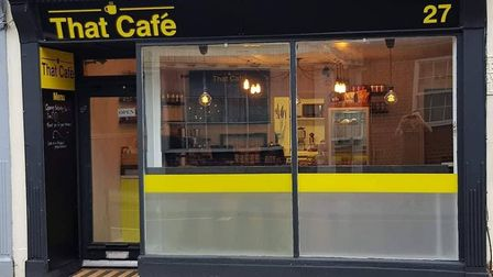 That Cafe, St Augustines Street, has ranked number one for breakfast restaurants in Norwich
