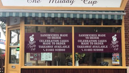The Muddy Cup in Norwich. Picture: The Muddy Cup