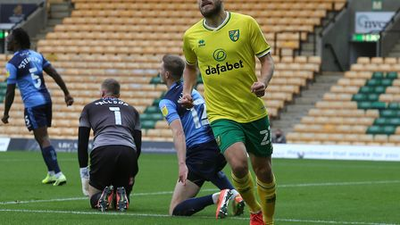 Teemu Pukki put Norwich City in front early against Wycombe Picture: Paul Chesterton/Focus Images L