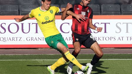 Christoph Zimmermann has missed Norwich City's last three games due to a calf injury Picture: Paul C