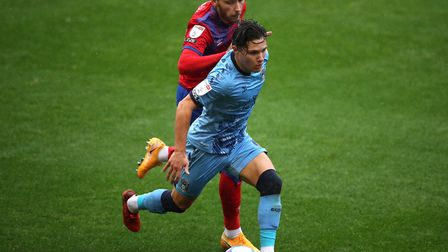 Tom Trybull made his first start for Blackburn Rovers in their 4-0 thrashing of Coventry City. Pictu