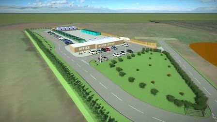 Work is set to start on the new Norwich North recycling centre off the NDR near Norwich Airport. Pic