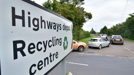 The new Harford site will replace the existing smaller recycling centre at Ketteringham. Picture: An