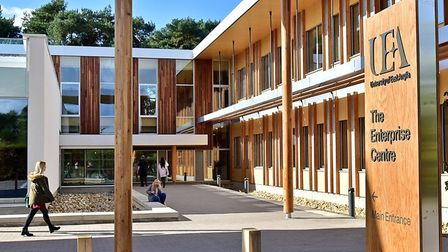 The University of East Anglia campus in Norwich. Picture: UEA