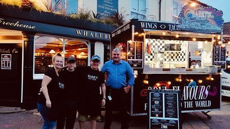 Harry's Soul Train street food van has now got a new home at The Whalebone pub in Norwich, pictured