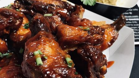 Chicken wings from Harry's Soul Train Picture: Contributed