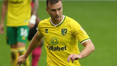 Ben Gibson's display was one of the few bright spots of Norwich City's defeat to Derby. Picture: Pau