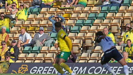 The 1,000 fans that got to see Norwich play against Preston will be the last supporters to watch Can