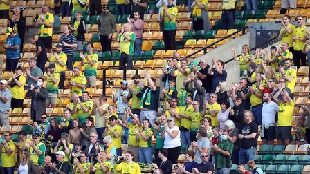 1,000 Norwich City supporters were in attendance for City's 2-2 draw with Preston North End on Satur