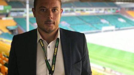 Canaries chief Ben Kensell has thanked fans for their support during the coronavirus pandemic. Pictu