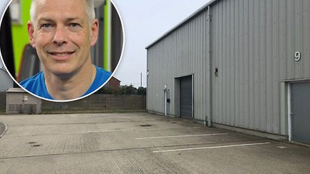 Paul Brice is getting ready to open a personal training centre in a unit on Jones Way in Great Yarmo