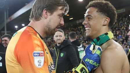 Tim Krul passed on plenty of advice to Jamal Lewis ahead of his Newcastle United move Picture: Paul