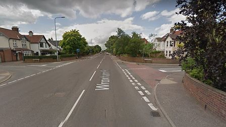 Glenburn Avenue, off Wroxham Road, will be closed for five days for work to improve drains. Pic: Goo