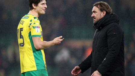 Timm Klose has urged Norwich City fans to give Daniel Farke time. Picture: Paul Chesterton/Focus Im