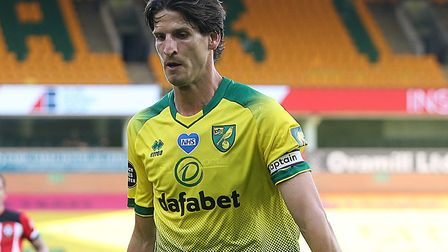 Norwich City defender Timm Klose has tested positive for coronavirus Picture: Paul Chesterton/Focus