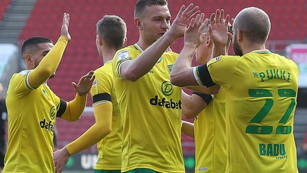 Teemu Pukki fired Norwich ahead in just the sixth minute at Ahston Gate, converting a Marco Stieperm