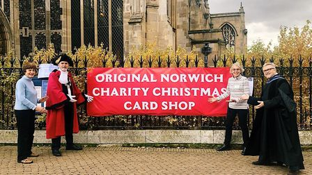 The Original Norwich Charity Christmas Card shop returns for 2020 in a new location at St Peter Manc