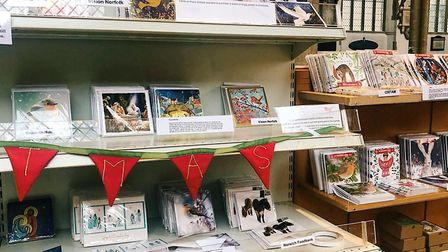 Each charity has its own selection of cards and 100pc of the money raised goes back to them Picture: