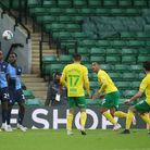 Mario Vrancic came off the bench again to give Norwich City victory over Wycombe Wanderers. Picture: