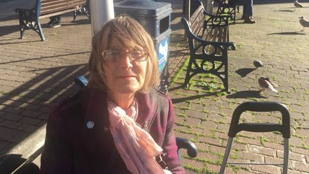 Wendy Lindsay from Lowestoft said she would miss shopping in Yarmouth during the month-long national