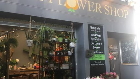 The Flower Shop in Great Yarmouth's Market Gates has reduced all its stock by 25pc ahead of the lock