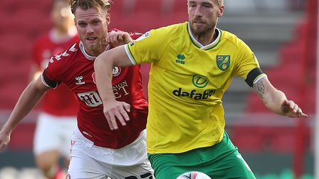Marco Stiepermann looked back to his best for Norwich City in the 3-1 Championship win at Bristol Ci