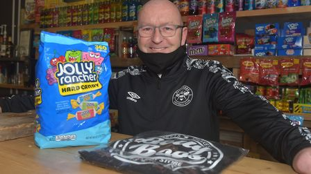Gorleston Shop Local campaign. Wayne Redmond Owner of Belly Boo's Cafe. Pictures: BRITTANY WOODMAN