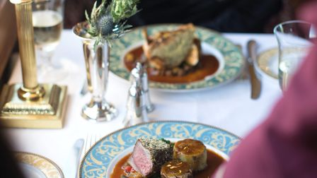 Guests on the Northern Belle will be treated to a seven-course festive lunch. Picture: Helen Cathcar